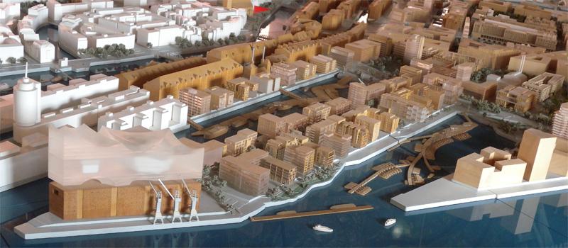 Stadtmodell Hamburg